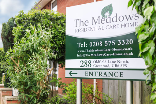 Meadows Care Home In Greenford
